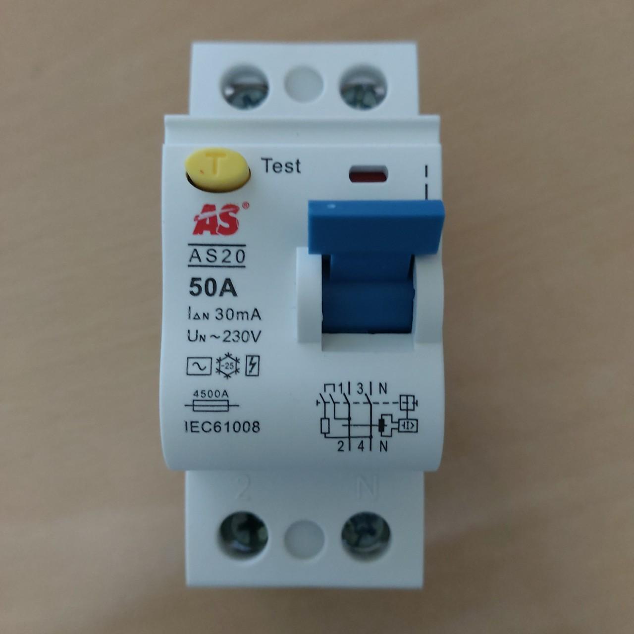 RCCB 2 Pha AS20