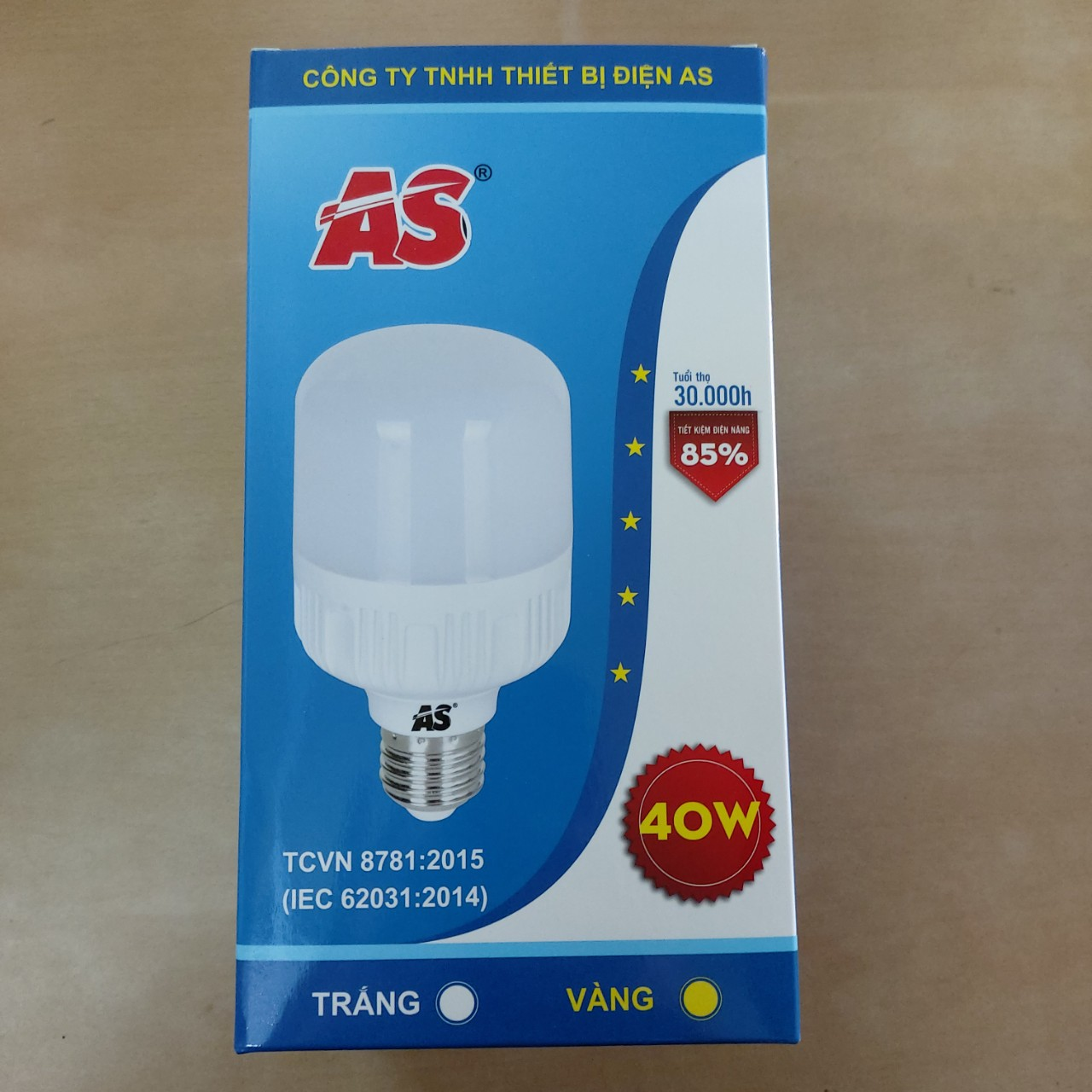 Bóng Led Trụ AS-40W